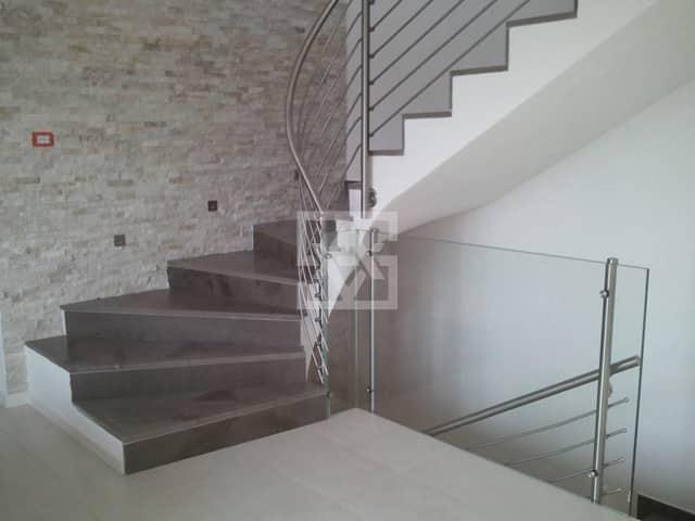 Marmo pietra di fossena grigio oriente marmo - Scale interne pietra ...