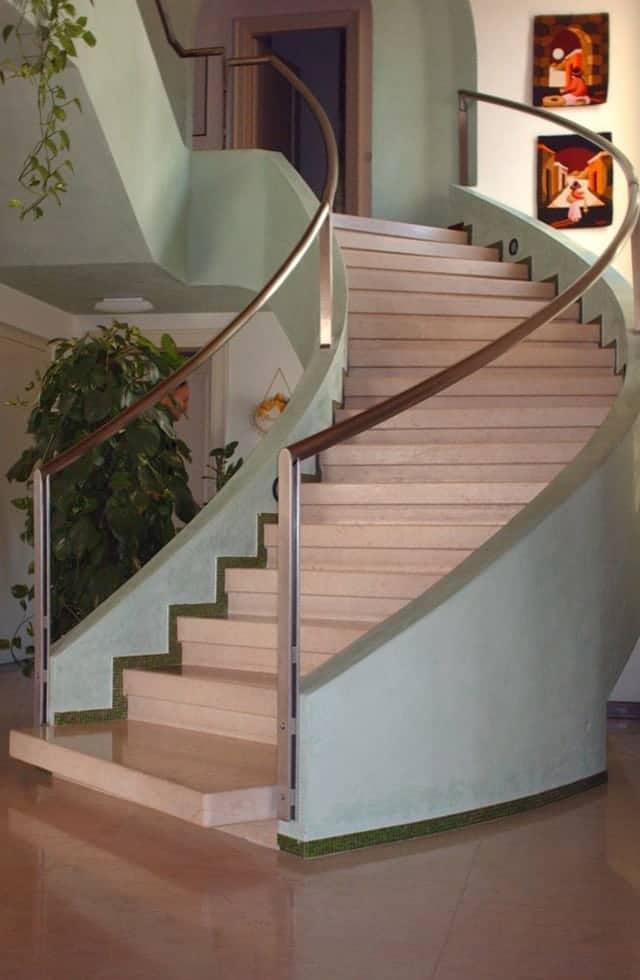 Rivestimenti Bagno Rosa : Scale in marmo e travertino veneta marmi