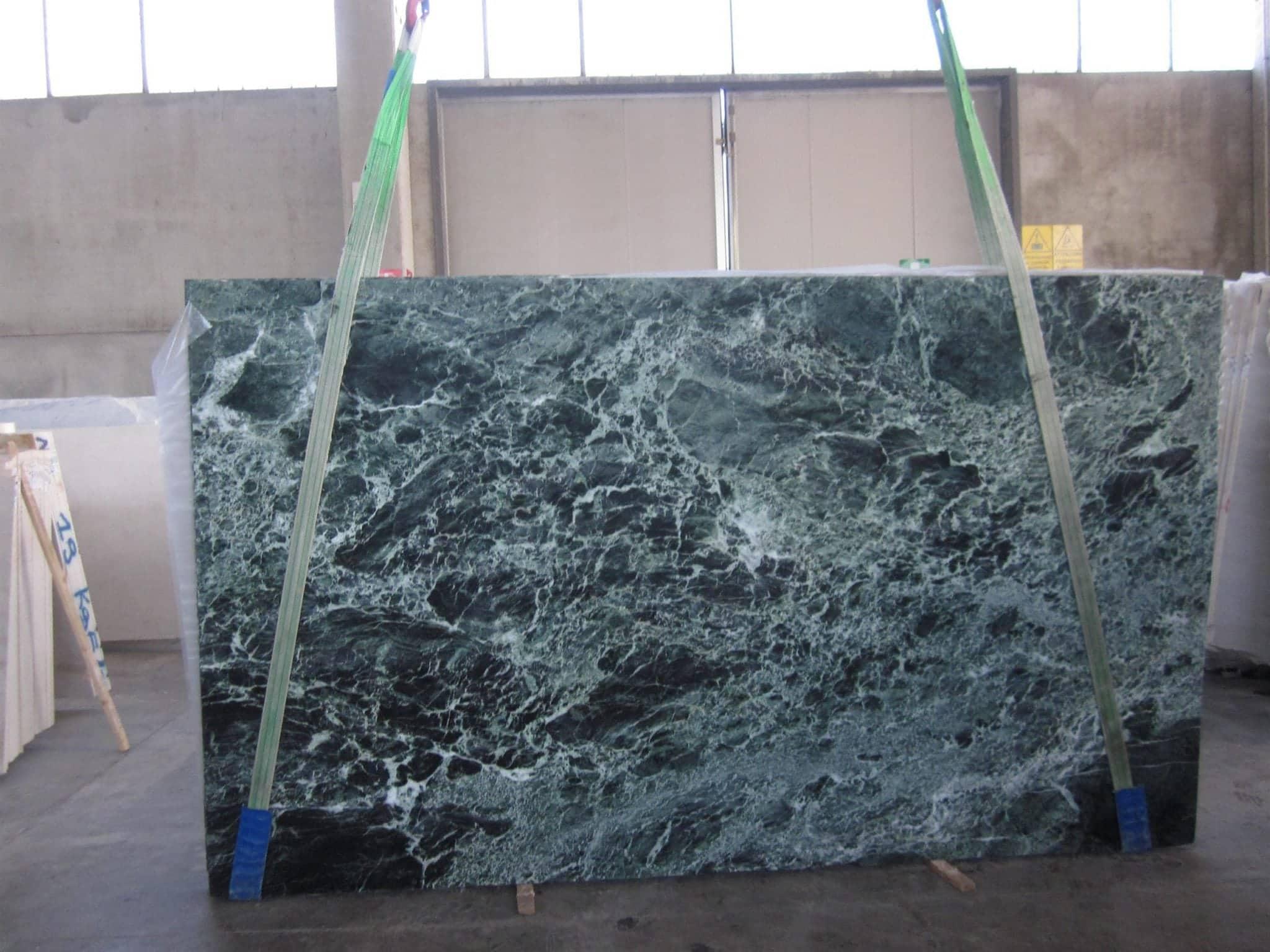 lastra marmo verde alpi