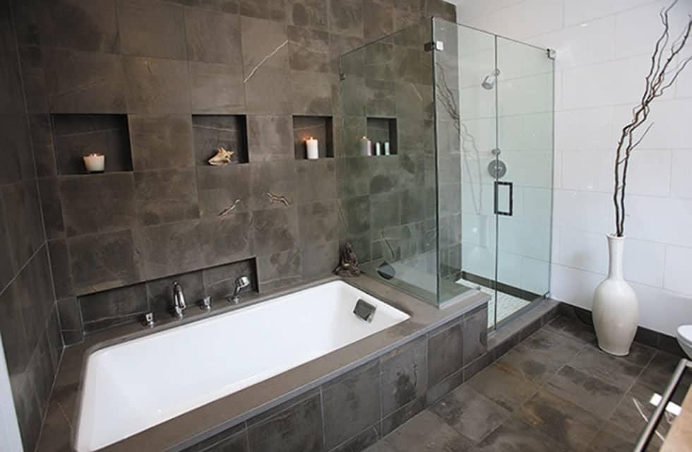 Rivestimenti bagno veneta marmi - Bagno rivestimento pietra ...